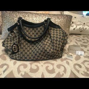 Authentic Gucci Sukey bag